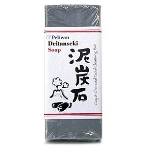 Pelican Deitanseki Clay & Charcoal Facial Cleansing Bar