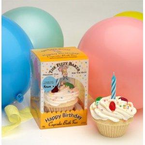 Fizzy Baker Birthday Cupcake Bath Bomb