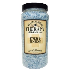 Village Naturals Therapy Stress & Tension Mineral Bath Soak